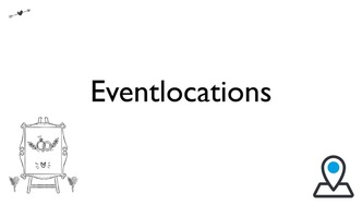 Eventlocations für die Hochzeit und Hochzeitsfeier