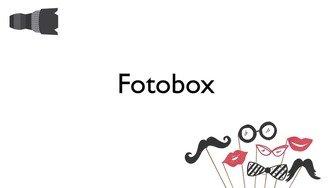 Fotobox als lustige Idee für die Hochzeit