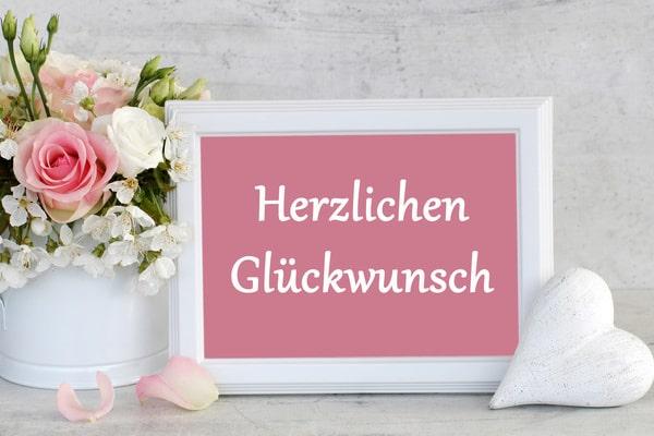 Glückwunschkartn zur Hochzeit - Hochzeitskarten