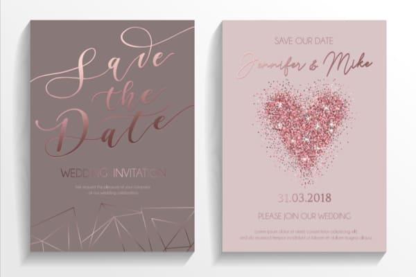 Hochzeitskarten - Save-the-Date-Karten