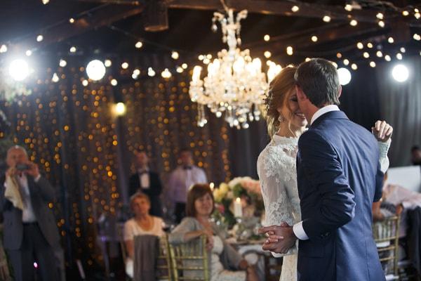 Hochzeitsfeier im Hotel oder Restaurant