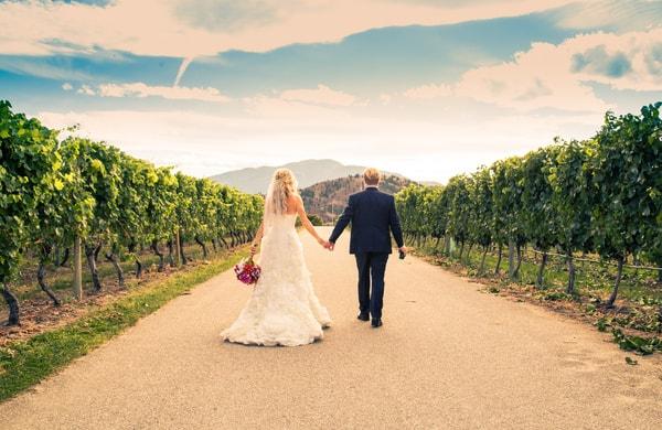 Heiraten auf einem Weingut - Idyllische Hochzeitslocation